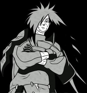 Légende ninja ayant traversé les époques, Madara Uchiha est un personnage impressionnant